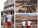 De Vrij, gita al Colosseo in dolce compagnia. Il manager: