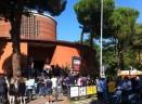 L'ultimo saluto a Gianmarco Agostinelli nella chiesa di Santa Chiara a Roma - FOTO