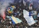 Lazio, la carica dei 30mila tifosi