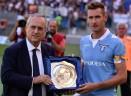 Lazio-Cesena, Klose premiato prima del match