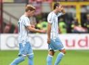 Milan-Lazio, la moviola: dubbio sul tocco di Abate con la mano, poteva starci un rigore